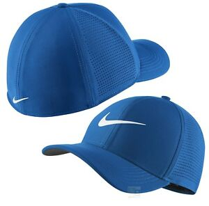1abe64be4 Details about 2018 Nike Golf AeroBill Classic 99 Cap S/M OR L/XL - Blue  Nebula 1st Class Post
