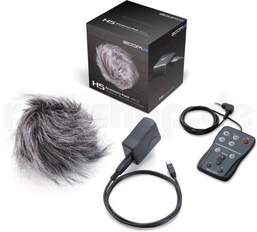 Zoom APH-5 Zubehörset Windschutz Kabel Fernbedienung USB Netzteil für Zoom H5