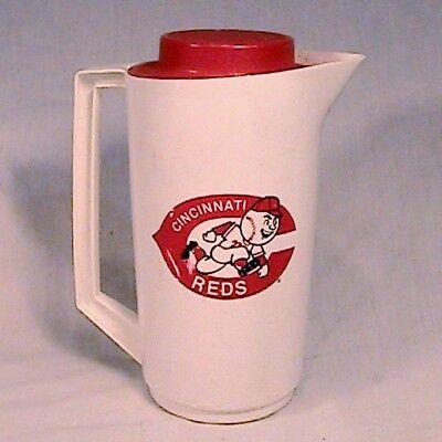 Ordentlich Vintage Cincinnati Reds Alladinware Kunststoff Wasser Bier Werfer Hudepohl Verschiedene Stile Baseball & Softball Sport