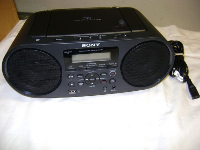 Sony ZS-RS60BT MEGA BASS CD Boombox with Bluetooth and NFC zsrs60bt