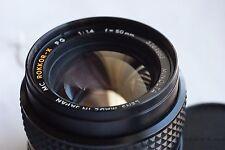 Minolta MC Rokkor PG F/1.4 1:1.4 50mm Lens X700 X570 X370 XD XGM XG9 XG7 XG1
