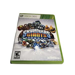 Skylanders Giants (Microsoft Xbox 360, 2012) Disc And Case.