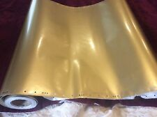 """30""""gold car vinyl sign making graphics marking decals wrap chosen length quality"""