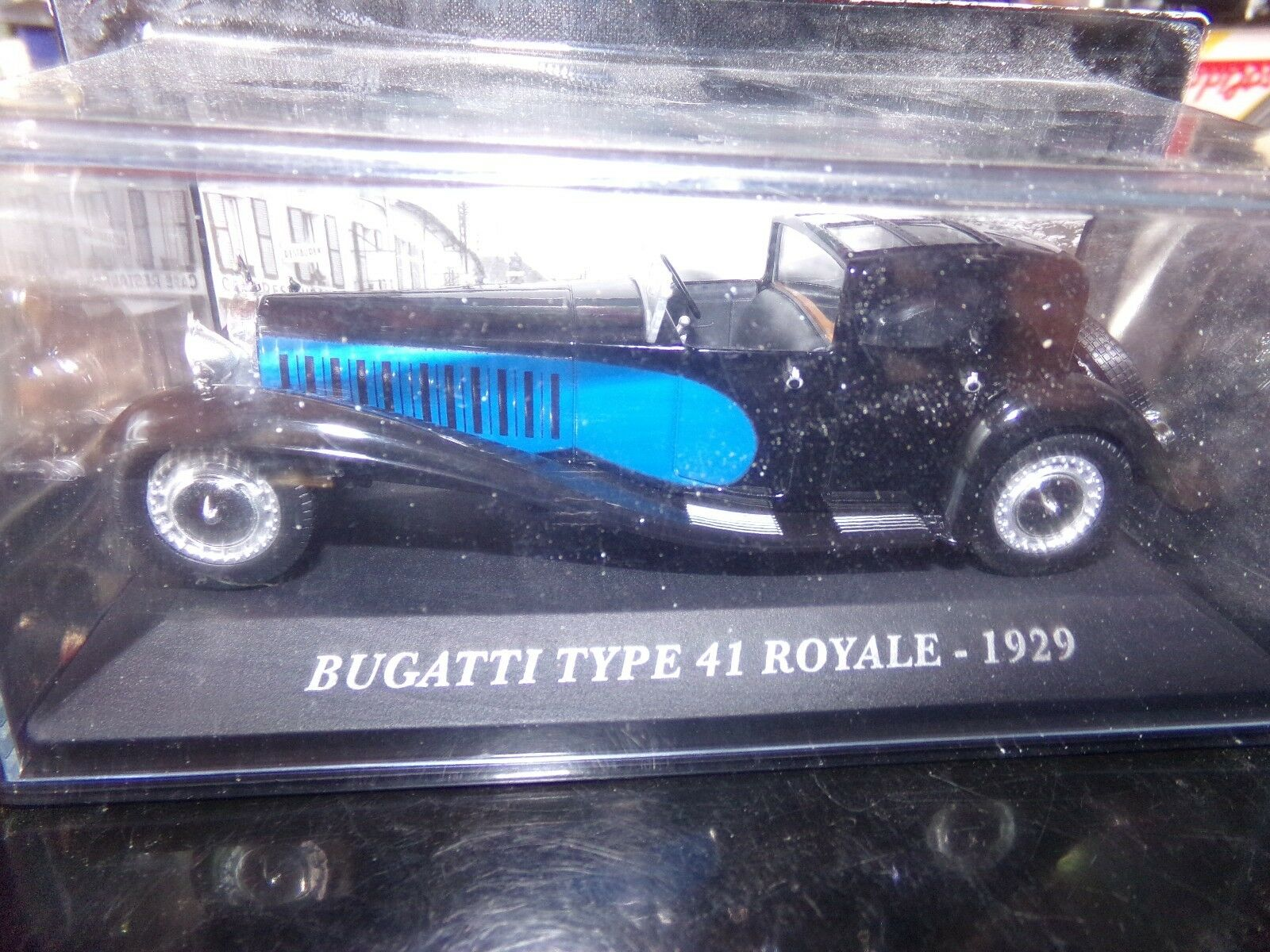 Car miniature 1 43 BUGATTI TYPE 41 ROYAL 1929 ixo