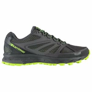 Karrimor Mens Tempo 5 Trail Running Shoes Trainers Lightweight Mesh Upper