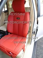 TO FIT A FORD RANGER CAR, SEAT COVERS, YMDX 03 ROSSINI SPORTS RED