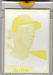 1968-Topps-91-Jim-Ollom-Twins-TOPPS-VAULT-COLOR-SEPARATION-PROOF-1-1-COA