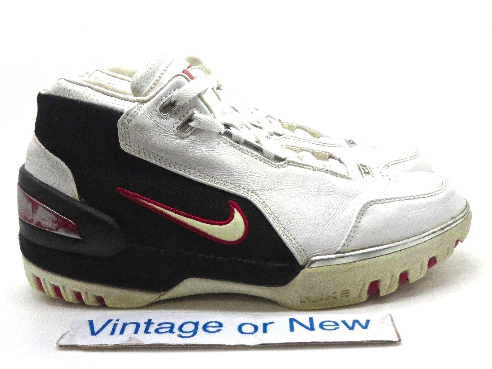 Nike zoom bianco generazione lebron io 1 bianco zoom nero crimson 2003 sz - 8 4c9c46