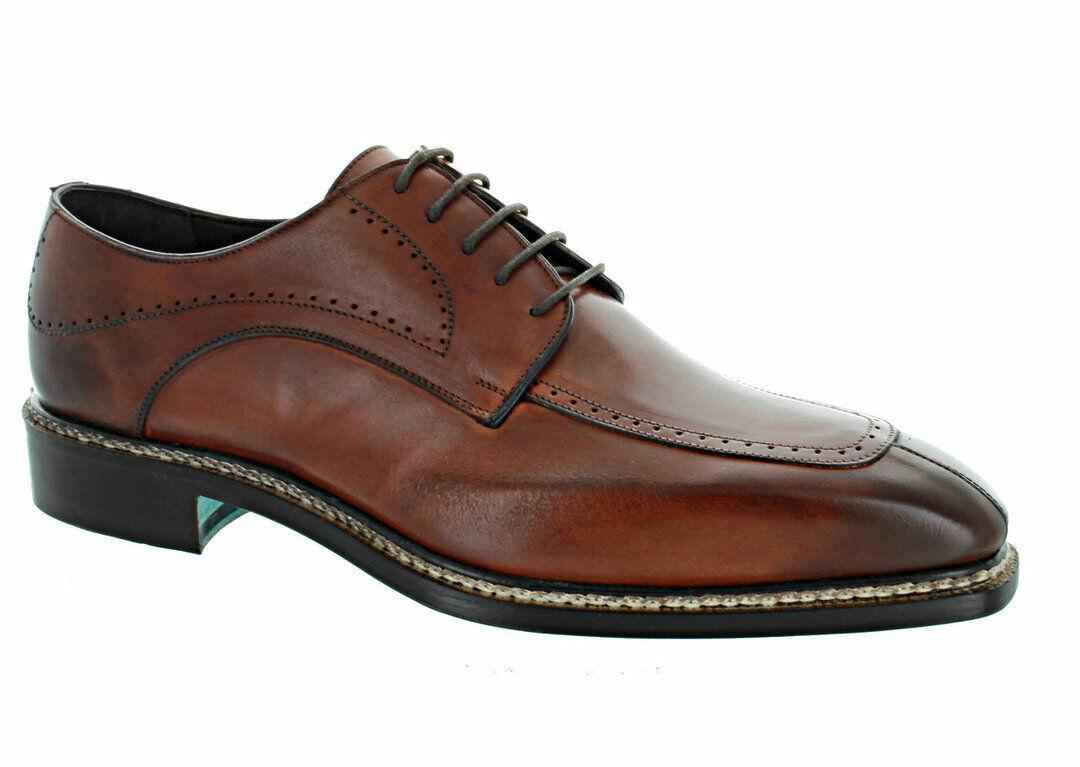 Emilio Franco Cognac Split Toe Oxford shoes