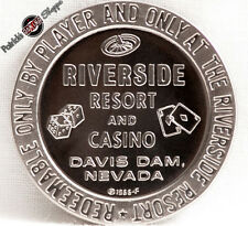 $1 PROOF-LIKE SLOT TOKEN RIVERSIDE RESORT CASINO 1966 FM MINT NEVADA COIN NEW