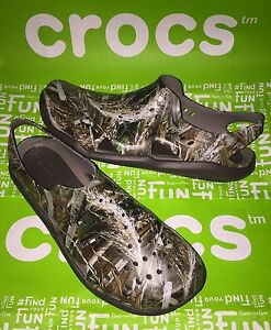 a751c3ed5ecc CROCS Mens Swiftwater Wave RealTree Max 5 Sport Sandals shoes Size 9 ...