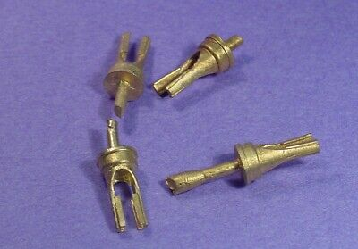 """O//On3//On30 WISEMAN BACK SHOP BRASS PARTS BS-136 GLOBE VALVES ON 1/"""" PIPE"""