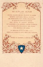 """WW1 Propaganda - """"Agli Eroi del Pasubio"""" - Non Viaggiata - PR326"""
