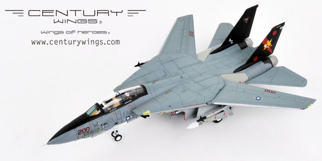 CENTURY WINGS F-14B Tomcat U.S Navy VF-11 rouge Rippers AG200 2004-1 72