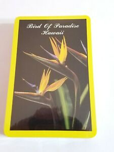Birds-of-Paradise-Hawaii-Playing-Cards-Souvenir-NEW-Sealed