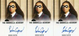 EL-The-Umbrella-Academy-season-1-Autograph-card-Eden-Cupid-as-young-Allison