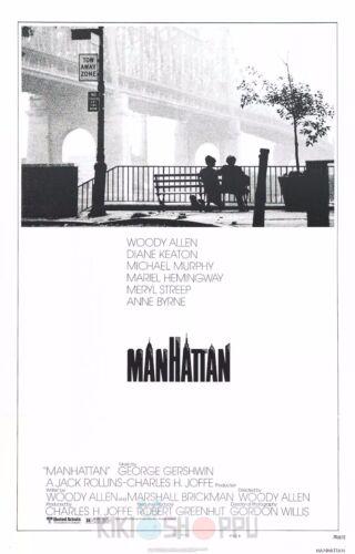 Poster A3 Manhattan Woody Allen Pelicula Film Cartel Decor Impresion 01