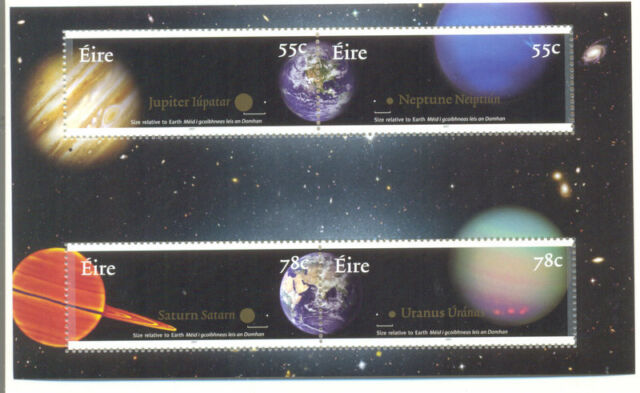 Ireland-Planets-Astronomy min sheet mnh(18460