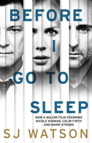 1 of 1 - WATSON,S J-BEFORE I GO TO SLEEP (B)(FILM)  BOOK NEW