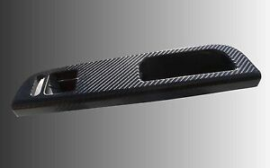 Vw Golf Mk4 Black Carbon Fibre Effect Grab Handle Trim 2
