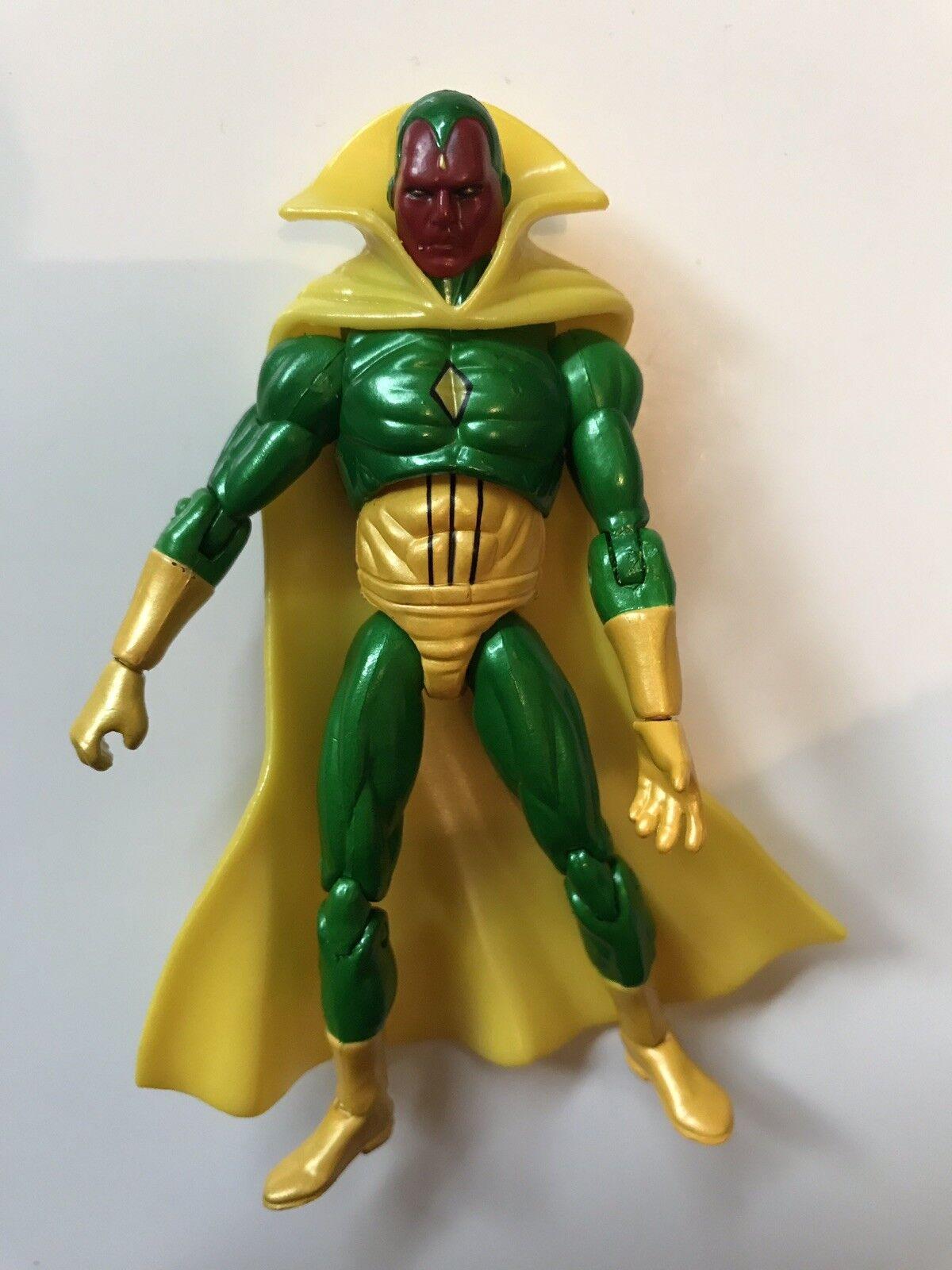 Marvel Universe Infinite Legends Figure 3.75  Vision .J4 READ DESCRIPTION