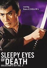 Sleepy Eyes of Death: Collector's Set, Vol. 2 (DVD, 2011, 4-Disc Set)