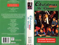 CHRISTMAS TIME IN VIENNA das Zweite Konzert mit Dionne Warwick Placido Domingo !