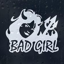 Bad Girl Devil Car Decal Vinyl Sticker For Bumper Window Panel