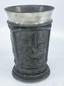 Vintage-German-WMF-3-Panel-Pewter-Cup-Mug-Rembrandt-4-3-8-034