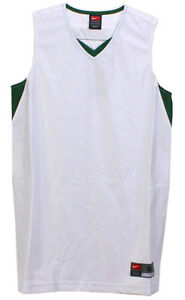 f0d5dc6f3 Nike Women s Unified White   Green Blank Basketball Jersey Size ...