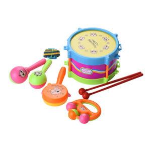 5pcs-Set-Baby-Kids-Toddler-Developmental-Educational-Toy-Infant-Drum-Rattles-Toy