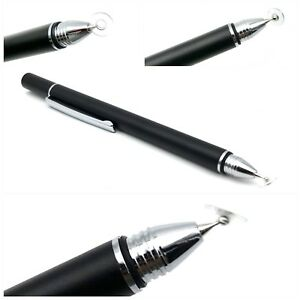 Black-Precision-Thin-Disc-Stylus-Pen-Fine-Tip-For-All-Touch-Screens
