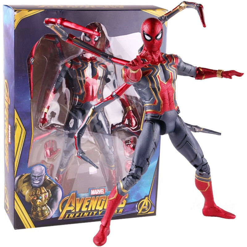 Marvel Avengers Infinity War Iron Spider Big Size PVC Action Figure Model Toy