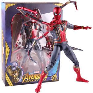 Marvel-Avengers-Infinity-Krieg-Iron-Spider-Big-Size-PVC-Action-Figur-Modell-Spielzeug