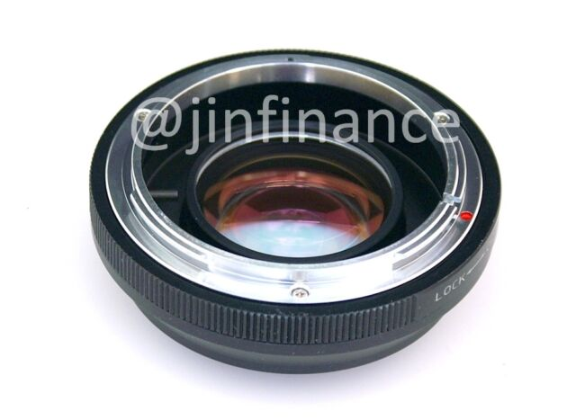 Focal Reducer Speed Booster Adapter Canon FD lens to Micro 4/3 M43 GH4 E-PL7 GH5