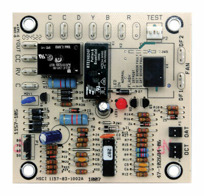 Rheem Ruud Weather King Corsaire Defrost Control Board 1157-83-1002A 47-21517-17