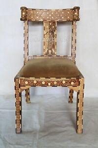 Indian-Luxury-Mango-Wood-Camel-Bone-Inlay-Modern-Furniture-Chair