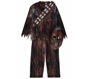 Image is loading Disney-George-Star-Wars-Chewbacca-Fancy-Dress-Costume-  sc 1 st  eBay & Disney George Star Wars Chewbacca Fancy Dress Costume Age 5-6 ...