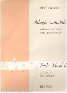 Beethoven: Adagio Cantabile Aus Sonata Pathetique Für Klavier - Erinnerungen