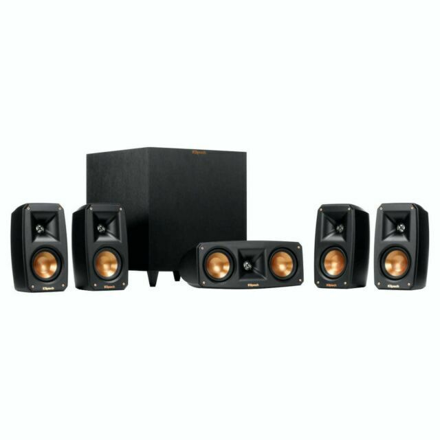 Klipsch Reference Theater Pack 5.1 channel home theater spea
