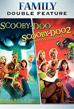 Scooby-Doo - Scooby-Doo 2: Monsters Unleashed (DVD, double feature) - D0305