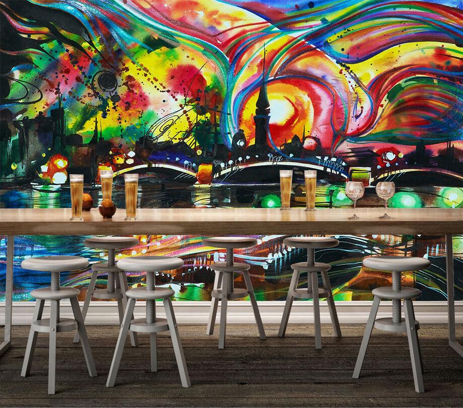 3D Graffiti City 1069 WallPaper Murals Wall Print Decal Wall Deco AJ WALLPAPER