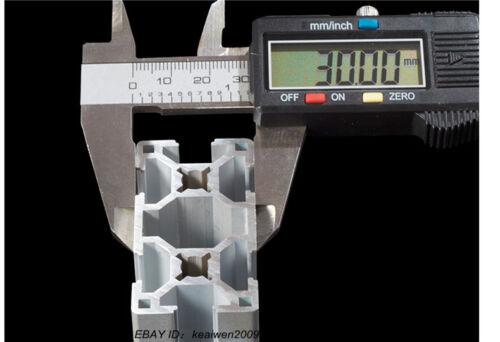 4pcs 30x60mm T-slot Aluminum Profiles Extruded Frame 300mm Length Workbench 3060