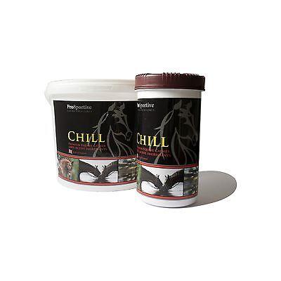 Fiducioso Chill Equine/cavallo Calmer-magnesio, L Triptofano, Vitamina B6, Vitamina B3-