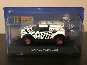 MINI-ALL4-RACING-RALLY-DAKAR-2016-AXION-IXO-1-43-NUEVO-NEW-MINT-IN-BOX