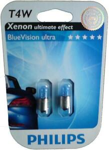 2-ampoules-T4W-PHILIPS-BLUEVISION-ULTRA-OPEL-SENATOR-B-29-3-0-156-177ch