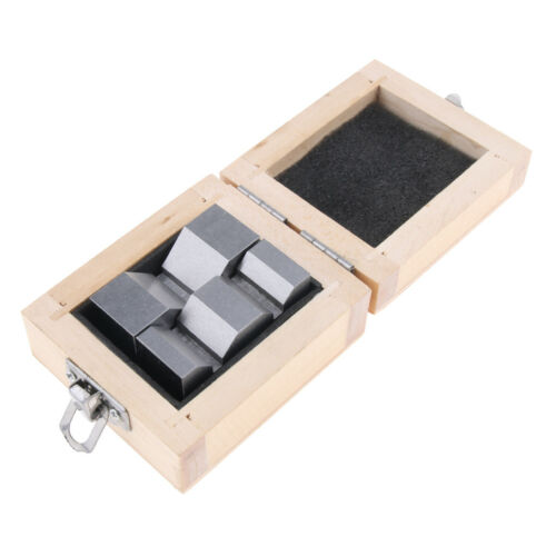 2pcs HIGH PRECISION V-BLOCK 2/'/' with Wooden Case