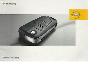 OPEL-MERIVA-A-Betriebsanleitung-2008-Bedienungsanleitung-Handbuch-Bordbuch-BA