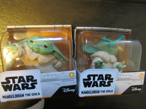 Star Wars Mandalorian Bounty Collection Baby Yoda 2-Pack Frog /& Force In Stock