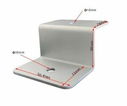 4 sets of 4 Solar Panel Z Bracket Solar Panel Mounting Mounts RV Boat Roof Wall